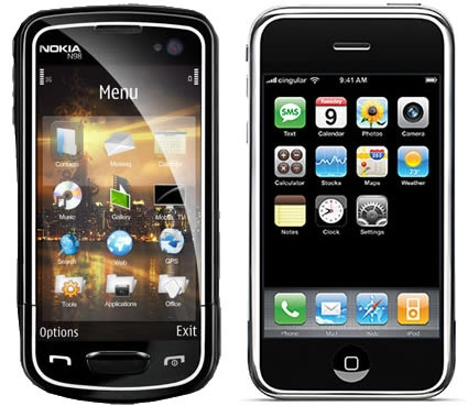 IPHONE NOKIA