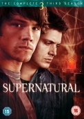 Box de DVDs Supernatural da 3ª temporada.
